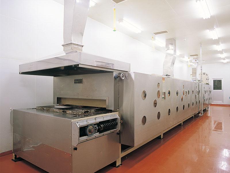 トンネルオーブン │ 遠赤外線ガス式業務用オーブン